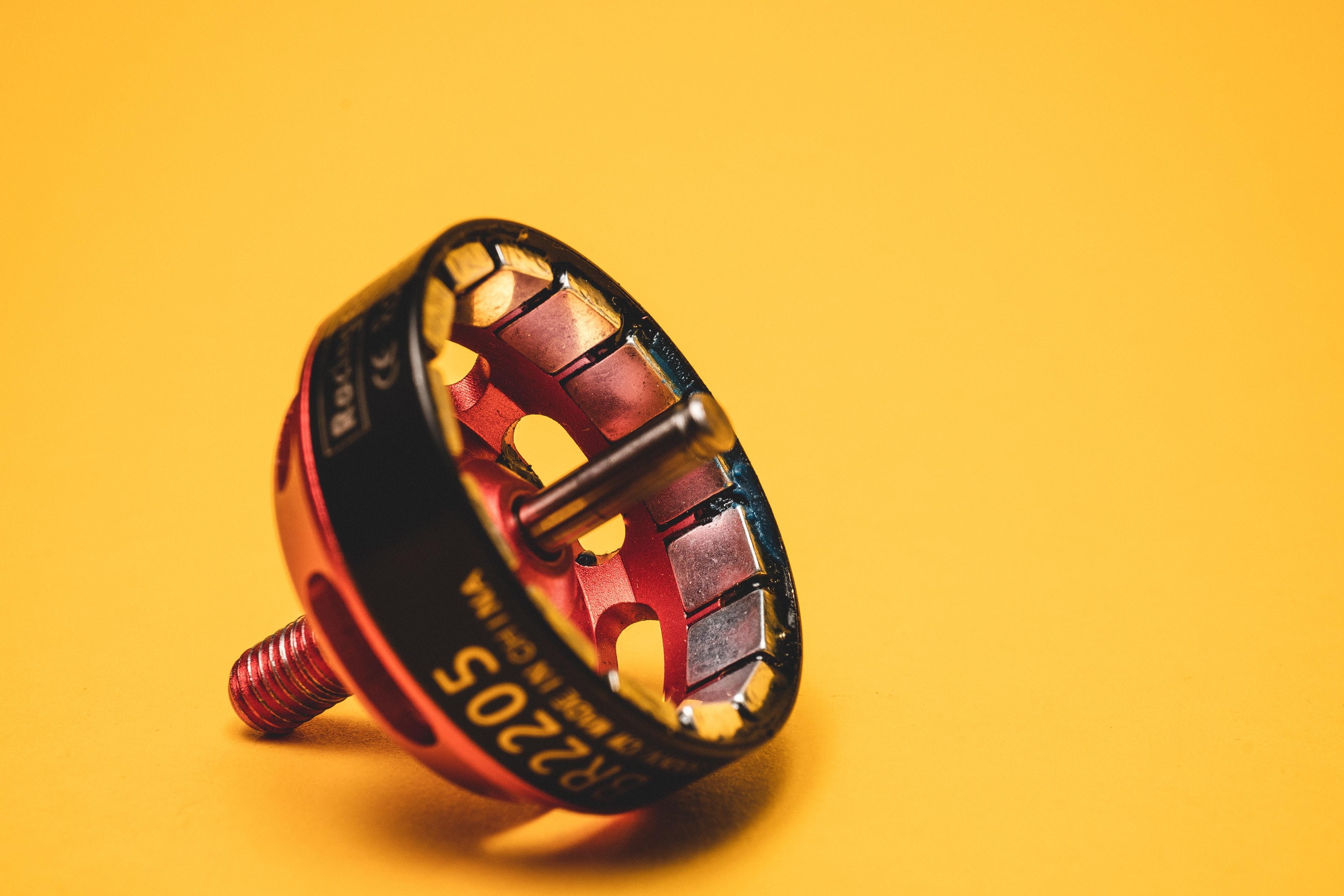 rotor con imanes de neodimio